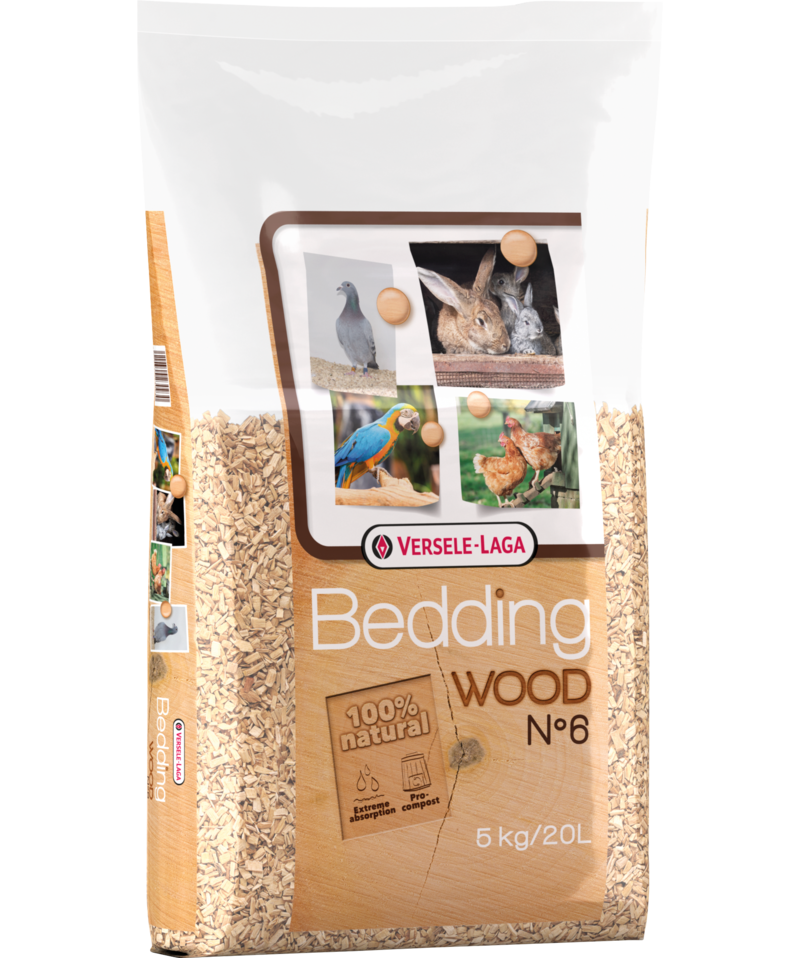 Versele-Laga Wood Bedding N°6 5kg